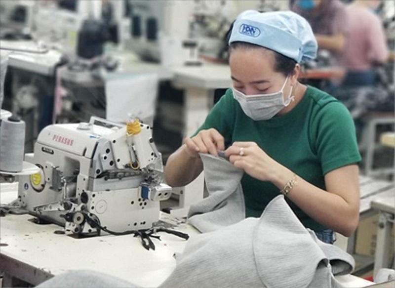 các loại máy móc trong ngành may mặc